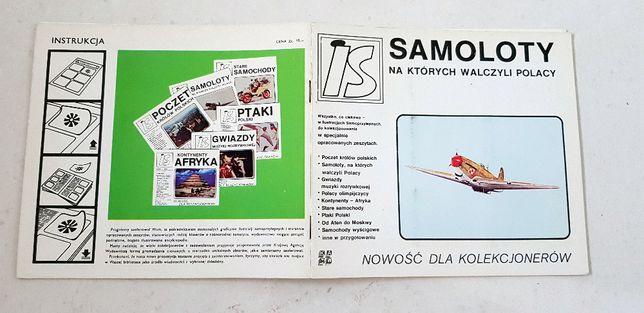 Samoloty na których walczyli Polacy - Album dla kolekcjonerów #5