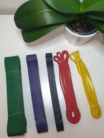 Bandas elásticas em conjunto ou separado