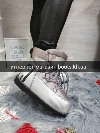 Moon Boot GUCCI луноходы, снегоходы ботинки на сильные морозы