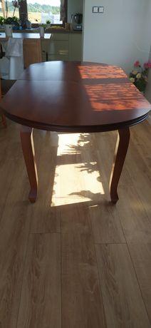 Stół bukowy z krzesłami