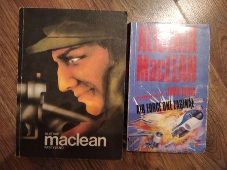 Alistair MacLean - 5 zł za dwie książki