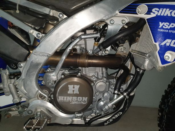 Yamaha Yzf 250 com extras