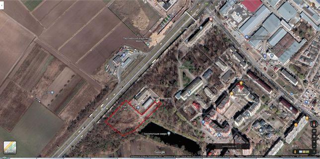 Фасадный участок на Одесскую трассу