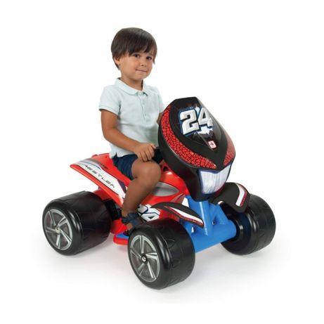 Quad Wrestler 6V Czerwony dla Dzieci do 25kg