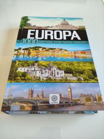 Książka Europa 1000 zabytków, które musisz zobaczyć NOWA