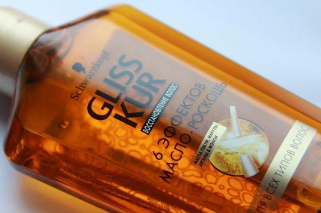 Масло-роскошь для волос «6 Эффектов» Gliss Kur Oil Schwarzkopf