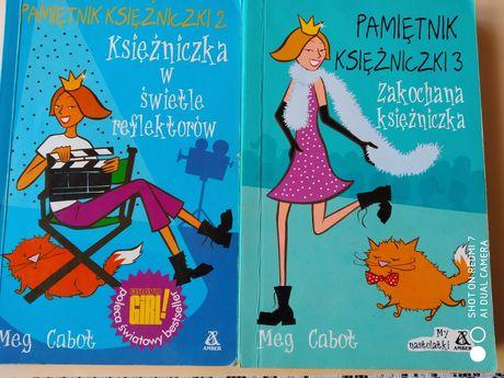 Pamiętnik księżniczki 2 i 3 Meg Cabot