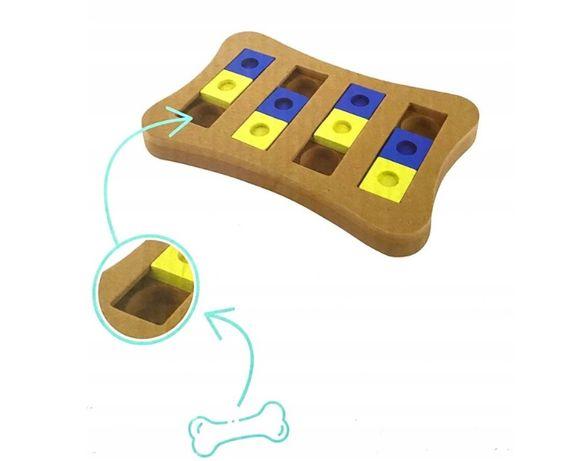 Zabawka interaktywna dla psa kota na smakołyki