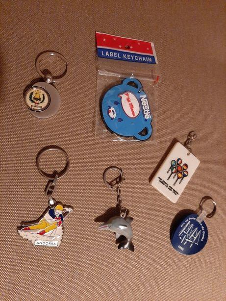 Conjunto de porta-chaves