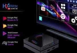 Хит смарт приставка TV Box H96 Max (4/32/64 Gb) на Android 10