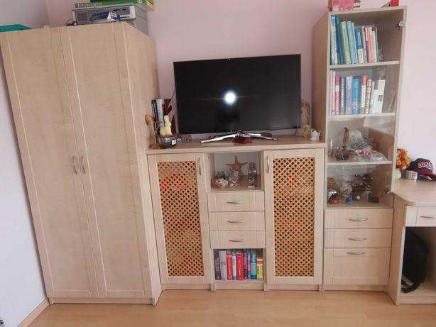 Meble młodzieżowe szafa komoda witryna biurko