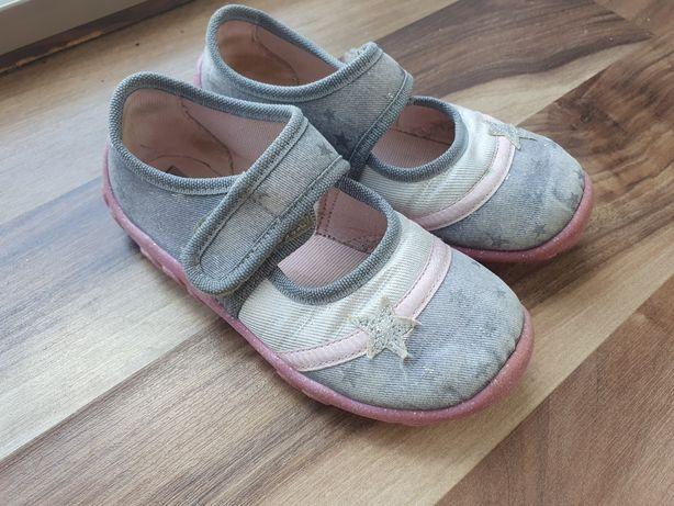 Kapcie superfit 27 jeansowe geox buty różowe