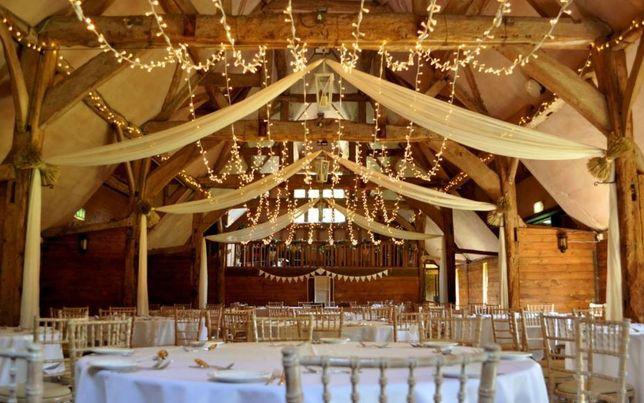 Łańcuch świetlny LED 20m lub 50m rustykalny boho wesele ślub