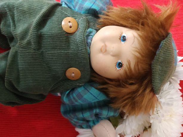 Керамическая кукла пупс фарфор мальчик 20см