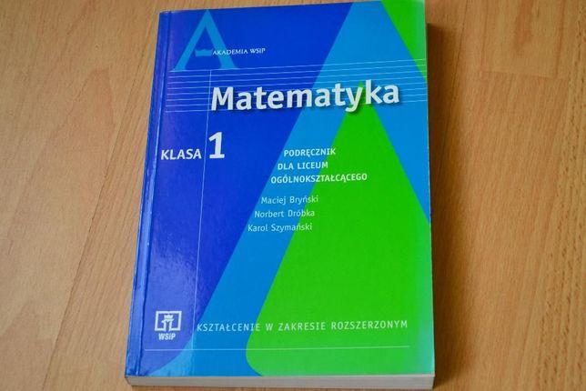 Podręcznik do matematyki dla liceum poziom rozszerzony WSiP