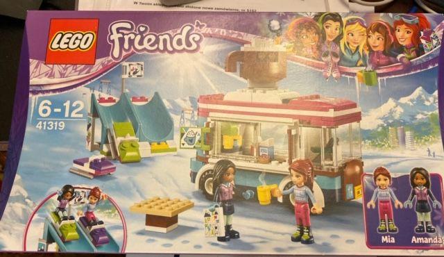 Lego Friends Furgonetka Z Czekoladą 41319