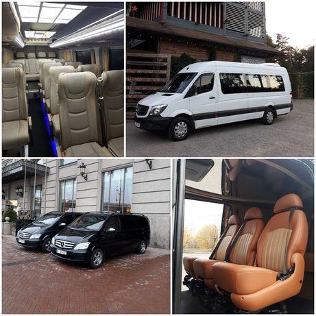 Аренда Заказ VIP микроавтобусов, автобусов. Пассажирские перевозки.