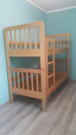 Ліжко двоярусне, букове