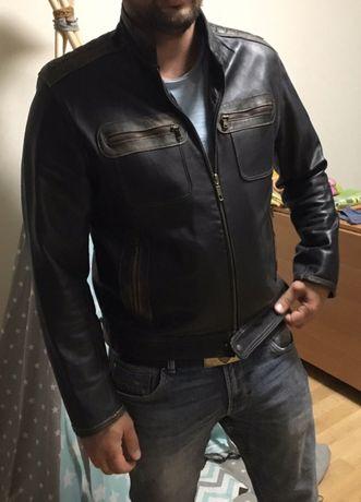Кожаная куртка размер М (48)