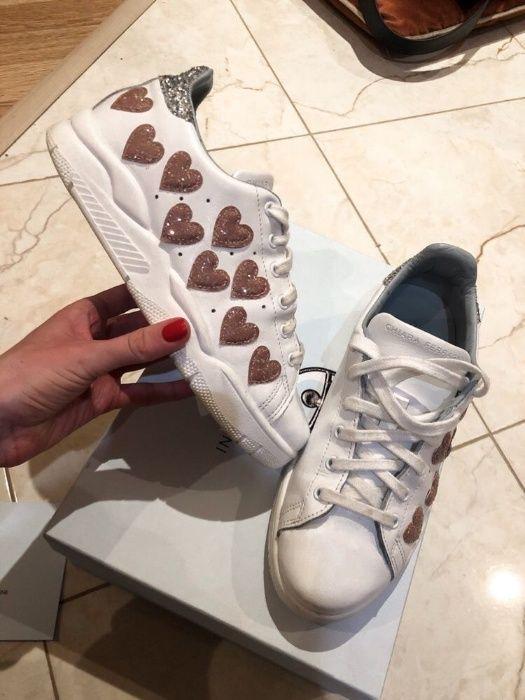 Кожаные оригинальные кроссовки Chiara Ferragani кеды Хмельницкий - изображение 1