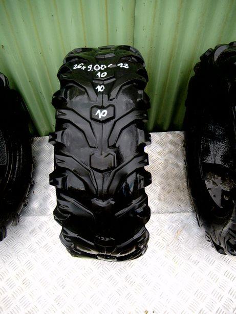 Opony quad ATV 26x9-12 26x9x12 26x9r12 KENDA BearClaw 26x9.00-12