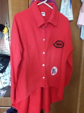 Bluza narzutka koszula 152