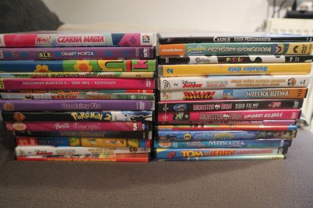 zestaw 27 filmów DVD/VCD + 1 gra PC