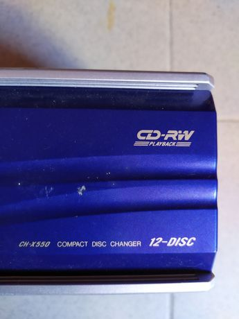 JVC disk charger