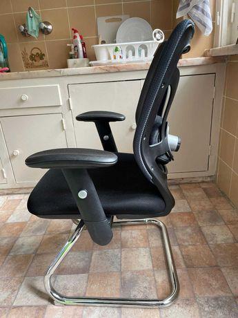 Linda cadeira escritório. Ergonómica, conforto 8h, ajuste lombar. NOVA