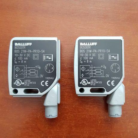 Balluff BOS00TR - BOS 21M-PA-PR10-S4 - 2 czujniki optoelektroniczne