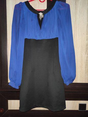 Платье женское чёрное.