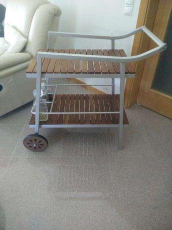 Mesa carrinho apoio,bar interior ou jardim.