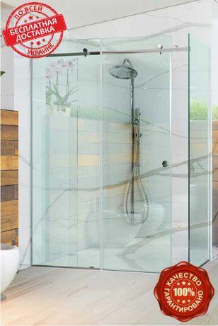 Премиальная раздвижная душ кабина Dream, 1200х800х2000.