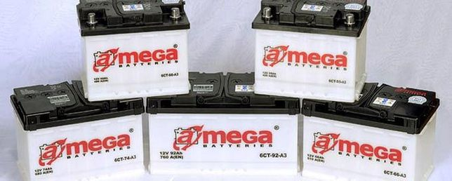 Акумулятори А-Mega, Ultra, Premium, Standart, безкоштовна доствка
