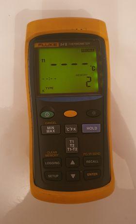 Termometr przemysłowy Fluke 54 II b termopara czujnik
