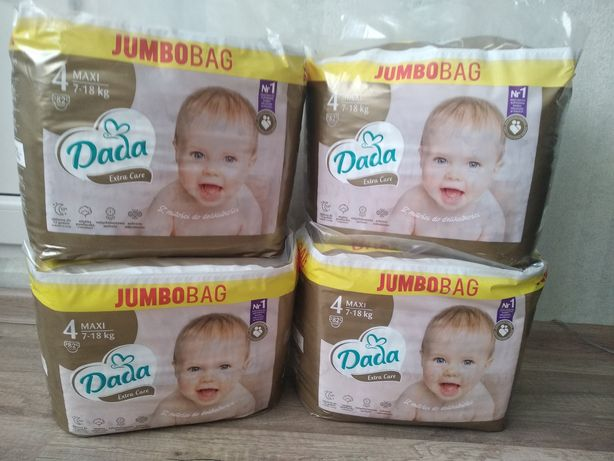 Підгузники ДАДА 4(82) gold extra care DADA подгузники памперс памперси