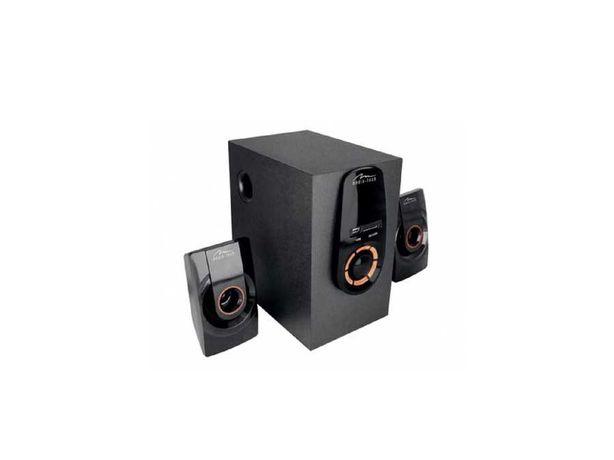 3-kanałowy zestaw głośników ZORKON 2.1 BT z radiem
