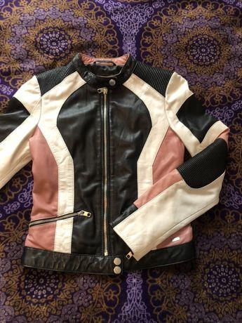 Кожаная куртка, tigha, кожа, курточка