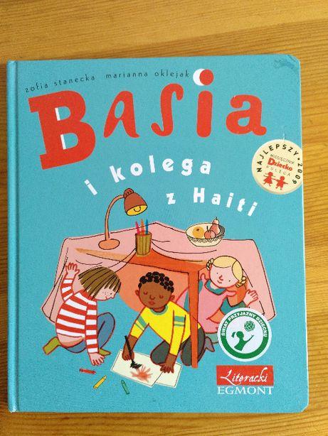 Książka dla dzieci: Basia i kolega z Haiti