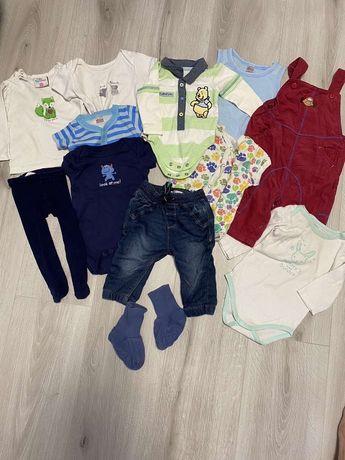 Пакет одежды на малыша 0-6 мес