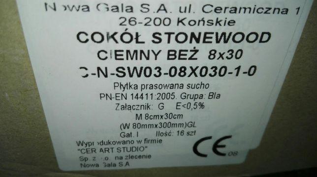 Cokół Stonewood ciemny beż 8x30 SW 03 Nowa Gala
