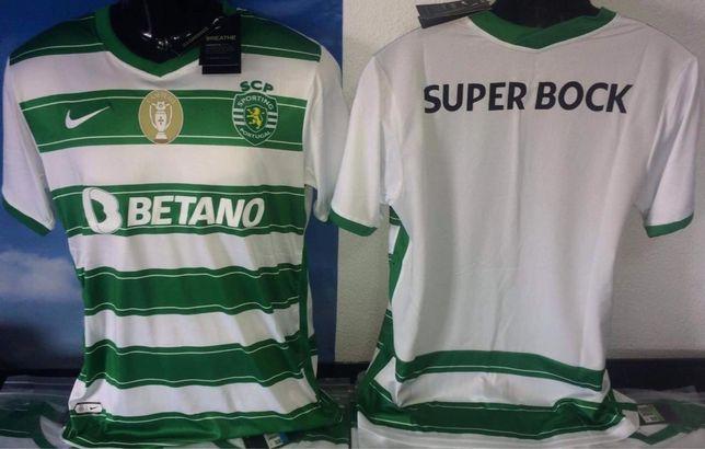 Camisolas Sporting 21 / 22  !!! Entrega imediata !!!