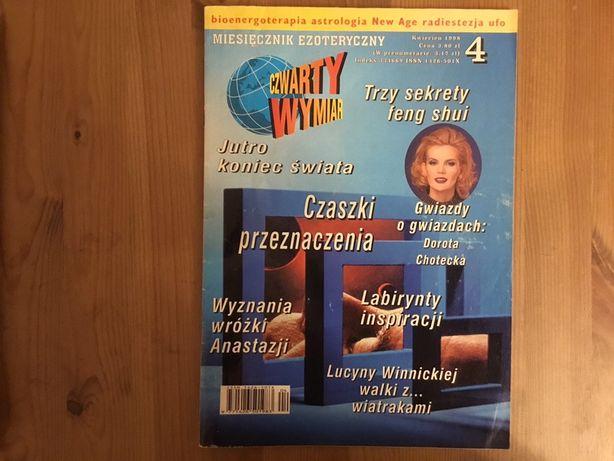 Czwarty wymiar. Miesięcznik ezoteryczny 4/1998 - magazyn