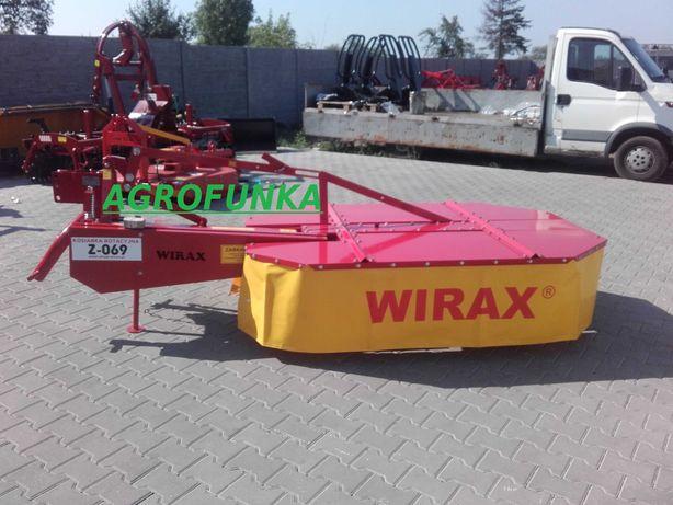 Kosiarka rotacyjna 1,65 Wirax od ręki transport raty
