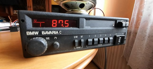 Radio bmw bavaria C e21 e24 e28 e30 e32 bardzo ładne jak nowe