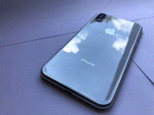 Apple iPhone X 64GB Silver Neverlock МАГАЗИН, в наличии, Оригинал