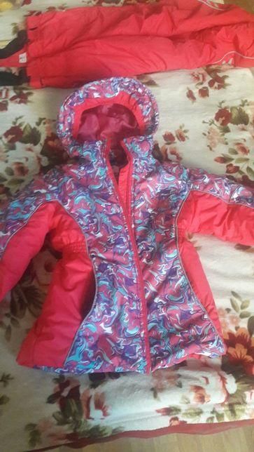 """Зимняя курточка для девочки """" Модный карапуз"""""""