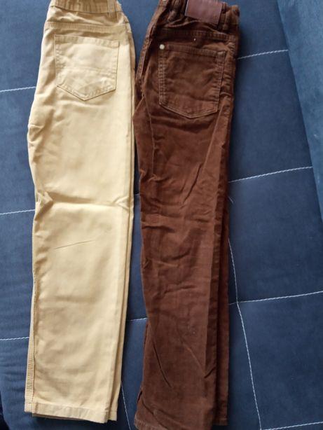 Spodnie jeansy slim h&m