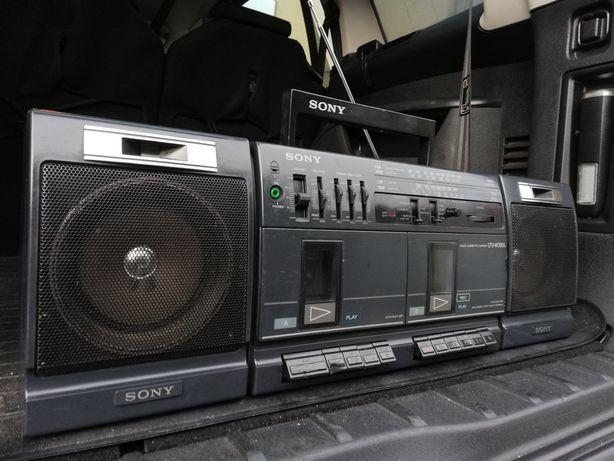 Radiomagnetofon SONY CFS-W350L Vintage lata 80's