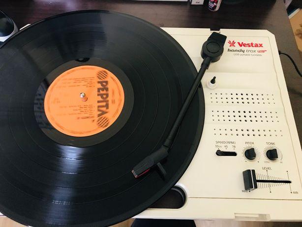 Vestax handy trax USB portable turntable, przenośny gramofon